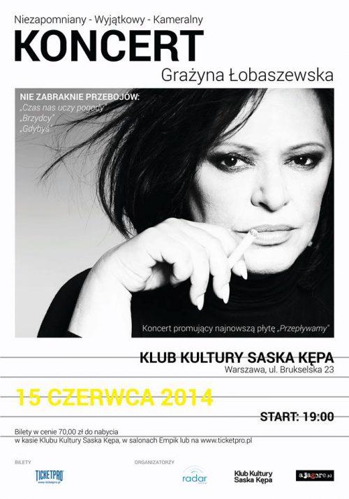 Koncert Grażyny Łobaszewskiej