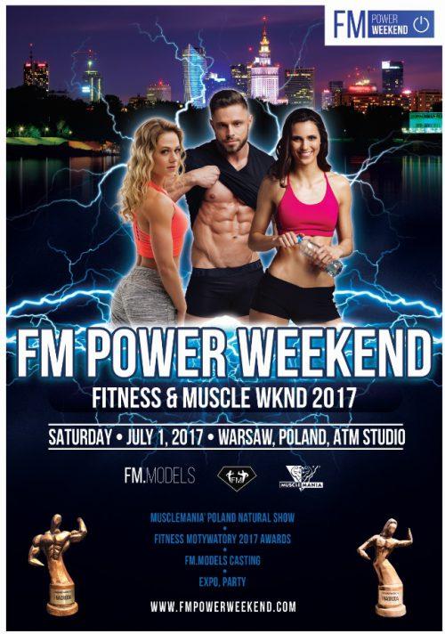 Plakat FM Power Weekend