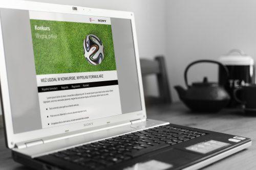 Wizualizacja strony www